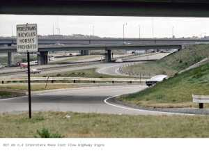 OCT 69 n.4 Interstate Mass Fast Flow Highway Signs