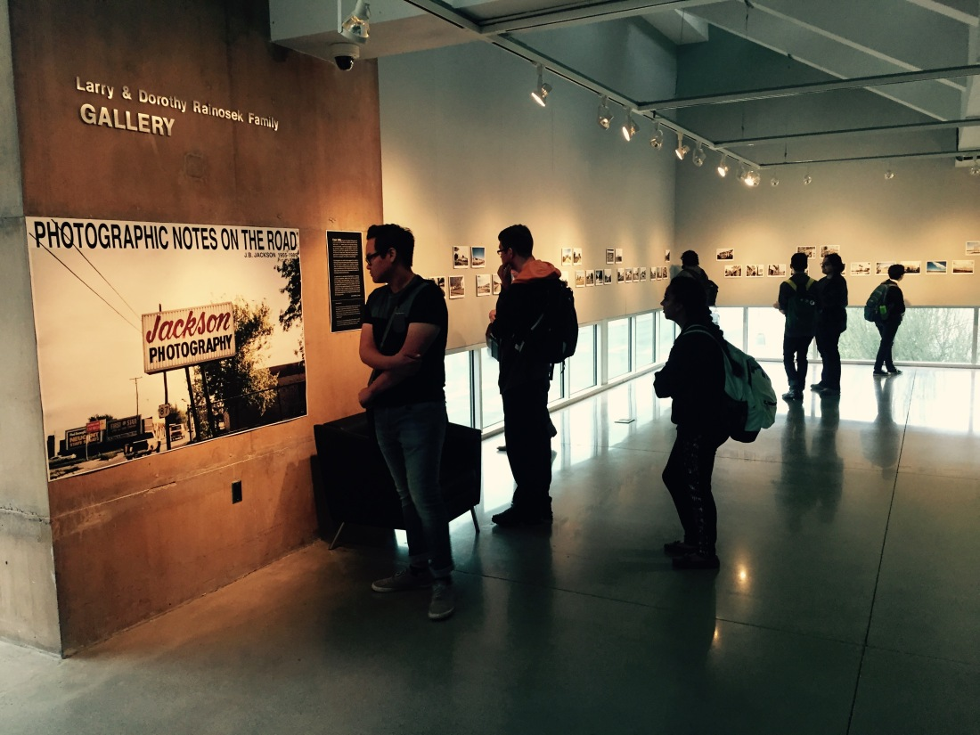 Photo of John Brinckerhoff Jackson Exhibition